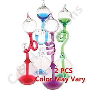 Colorful Office Thinking Hand Boiler, Glass Science Energy Transfer, Children Science Experiment, Love Birds Color Meter Hand Boiler, 2 Pcs (Color May Vary) By C&H Solutions