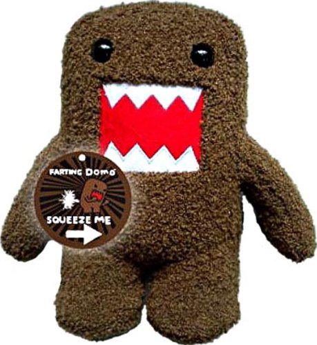Licensed 2 Play Domo Farting 6 1/2  Plush Novelty Doll