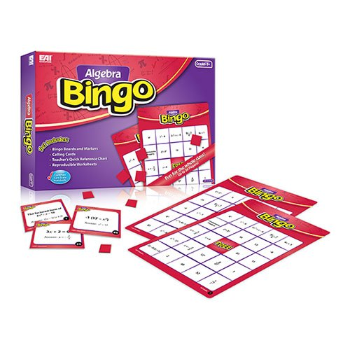 Eai Education Algebra Bingo: Grades 8+