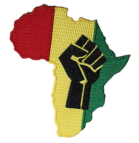 Application Rasta Africa Fist Patch