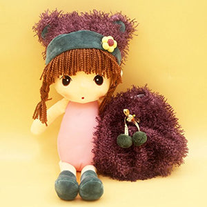Jiaru Soft Stuffed Toys Doll Plush (Purple 17.7 Inches)