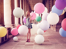 Load image into Gallery viewer, 36 Inch Giant Jumbo Latex Balloons (Premium Helium Quality), Regular Shape - Fuchsia