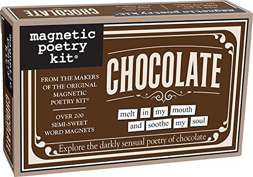 Magnetic Poetry - Chocolate Kit - Words For Refrigerator - Write Poems And Letters On The Fridge - Made In The Usa