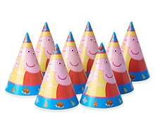 Load image into Gallery viewer, American Greetings Girls Peppa Pig Party Hats(8 Count)