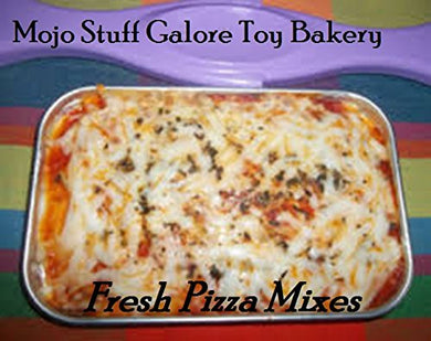 Mojo Stuff Galore Oven Mixes 3 Cheese Pizza Mixes With Italian Seasoning And Parmesan Cheese 6 Pizzas Bake Oven