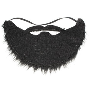 New Arrival Fashion 1Pc Funny Costume Party Male Man Halloween Beard Facial Hair Disguise Game Black Mustache Top Quality
