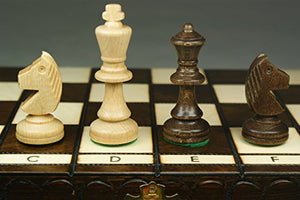 Quality 35Cm/14In Tournament No.3 Chess Set, Handcrafted By Madon