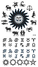 Load image into Gallery viewer, Supperb Temporary Tattoos - Zodiac