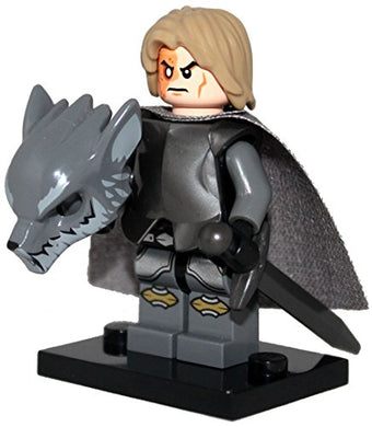 The Hound - Game Of Thrones Minifigure Made Of Lego And Compatible Parts