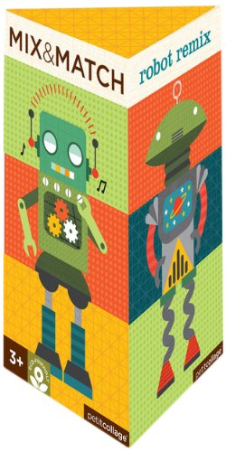Petit Collage Mix And Match Robot Remix