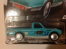 Load image into Gallery viewer, Hot Wheels Car Culture Trucks Datsun 620 Pickup 5/5, Teal