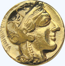 Load image into Gallery viewer, Greek Mythology, Athena And Her Owl Coin, Goddess Of Wisdom, Mark Of Athena (#77-G)