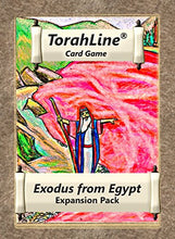 Load image into Gallery viewer, Torahline Card Game, Exodus From Egypt Expansion Pack