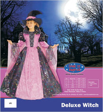 Load image into Gallery viewer, Deluxe Witch - Large 12-14