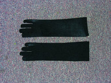 Load image into Gallery viewer, Nylon Costume Gloves Child: Black One Size