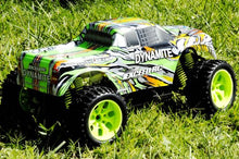 Load image into Gallery viewer, 1/10 Scale Exceed-Rc Rtr Dynamite  Stripe Green  Off Road Monster Electric Truck (Color May Vary)