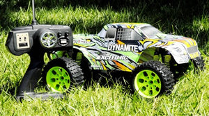 1/10 Scale Exceed-Rc Rtr Dynamite  Stripe Green  Off Road Monster Electric Truck (Color May Vary)
