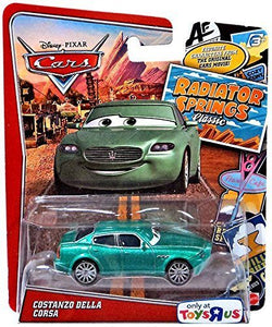 Disney/Pixar Cars, Exclusive Radiator Springs Classic Die-Cast, Costanzo Della Corsa, 1:55 Scale