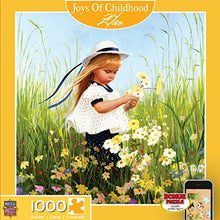 Load image into Gallery viewer, Masterpieces Joys Of Childhood Field Of Dreams Square Jigsaw Puzzle, Art By Donald Zolan, 1000-Piece