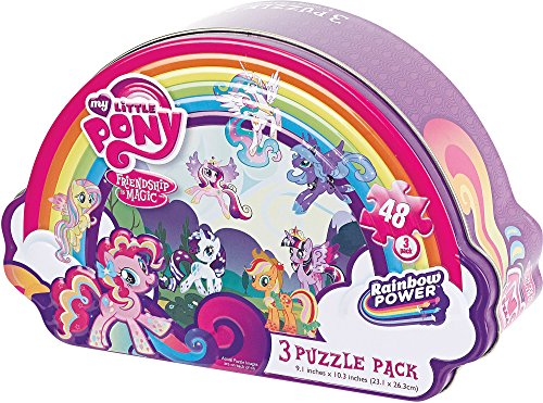 Girls Shaped Puzzle Tin-My Little Pony