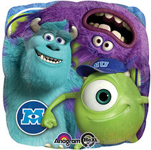 Load image into Gallery viewer, 7 Pc Monsters Inc. Mike Sully Balloon Bouquet Party Decoration Disney Birthday