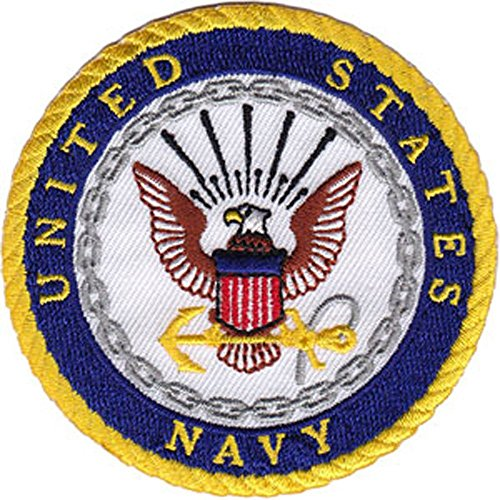 Application Navy Logo Patch