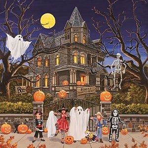 Beware Haunted House 1000 Piece Jigsaw Puzzle By Sunsout