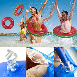 Fruit Style Watermelon Painting Adult / Child Thicken Pvc Swimming Ring Floating Rings Kids Inflatable Swiming Laps,1 Pcs 32 Inches For 8-15 Years Baby