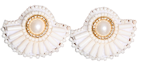 Ivory Pearl Fans