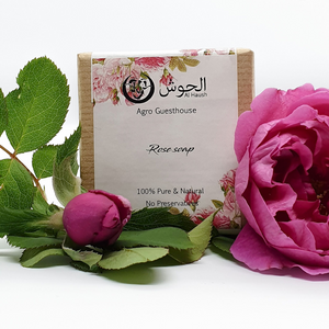 Rose Soap - All Natural