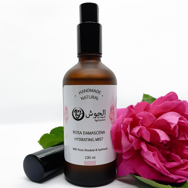 Rosa Damascena Hydrating Mist - All Natural