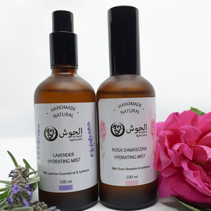 Hydrating Mist Collection - ROSA DAMASCENA + LAVENDER -  All Natural