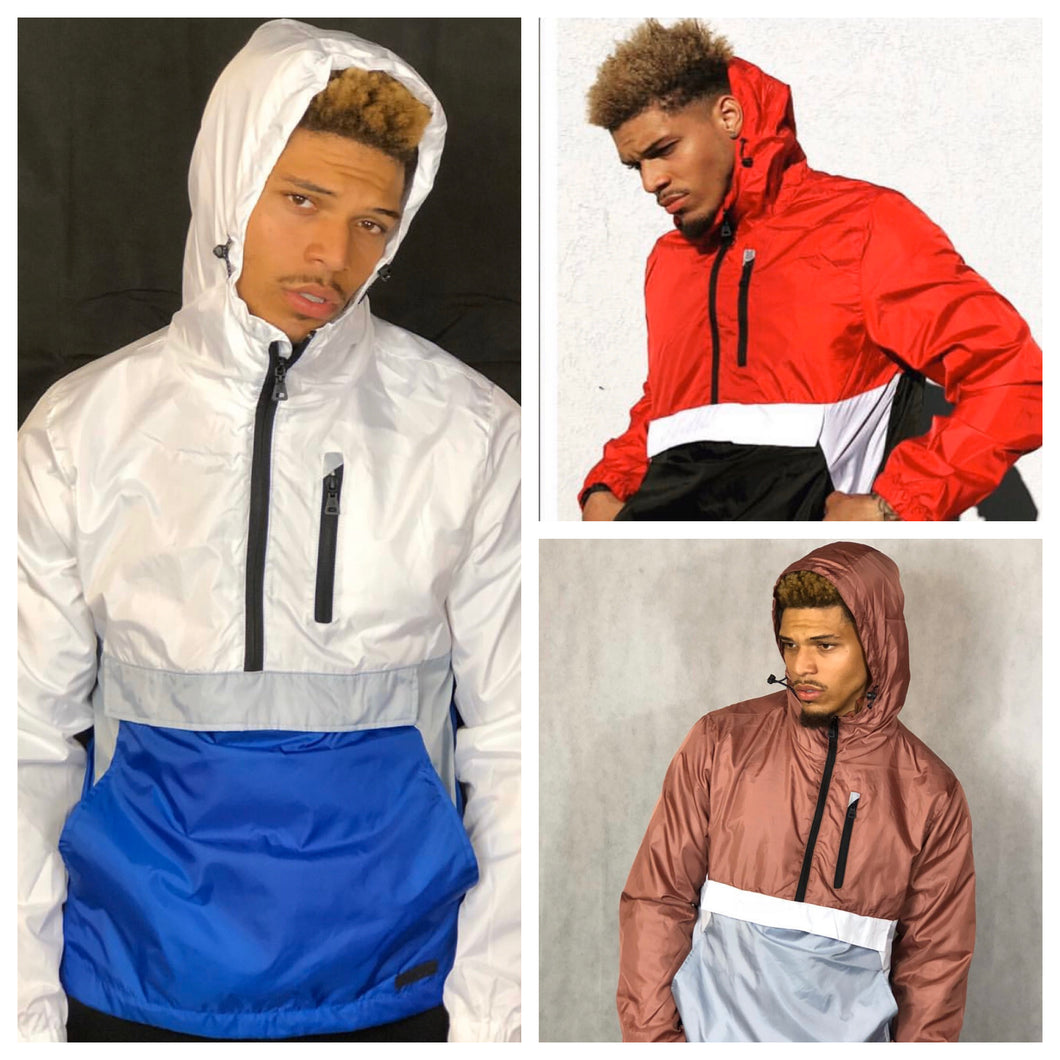 Windbreaker Pullover Jacket (Lightweight)