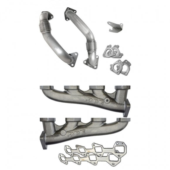 PPE 116111101 HIGH-FLOW EXHAUST MANIFOLDS WITH UP-PIPES
