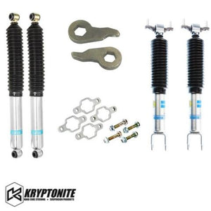 KRYPTONITE STAGE 1 LEVELING KIT WITH BILSTEIN SHOCKS 2011+