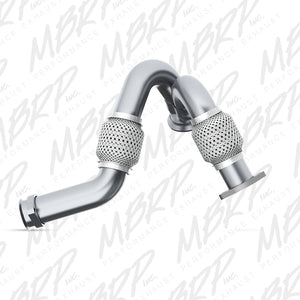2003-2007 Ford 6.0L Powerstroke Turbo Up-Pipe, dual, AL