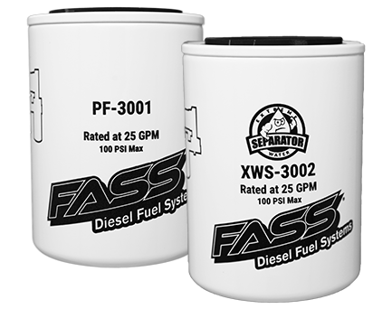 Fass Replacement Filter Package (PF-3001/XWS-3002)