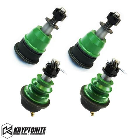 KRYPTONITE UPPER AND LOWER BALL JOINT PACKAGE DEAL (FOR STOCK CONTROL ARMS) 2001-2010
