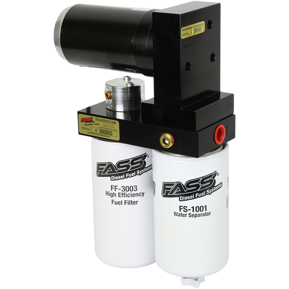 FASS TITANIUM SIGNATURE SERIES DIESEL FUEL LIFT PUMP 140GPH@55PSI FORD POWERSTROKE 6.7L 2011-2016 (TS F17 140G)
