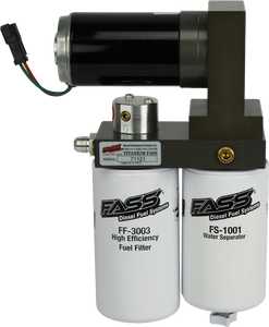 FASS TITANIUM SIGNATURE SERIES DIESEL FUEL LIFT PUMP 125GPH@55PSI FORD POWERSTROKE 7.3L AND 6.0L 1999-2007 (TS F14 125G)