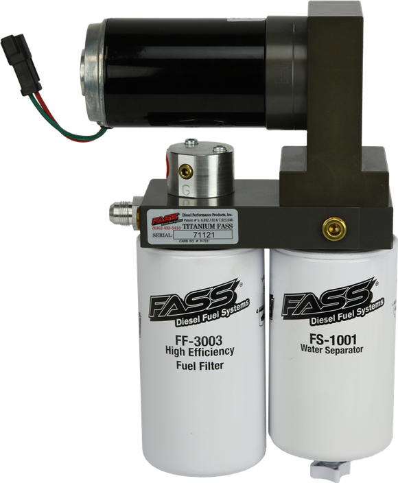 FASS TITANIUM SIGNATURE SERIES DIESEL FUEL LIFT PUMP 140GPH@55PSI FORD POWERSTROKE 7.3L AND 6.0L 1999-2007 (TS F14 140G)