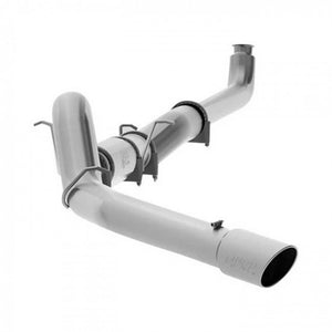 "MBRP 5"" Single XP Series XP Series Stainless Steel Downpipe-Back Exhaust for GM Duramax 6.6L 2001-2007 EC/CC"