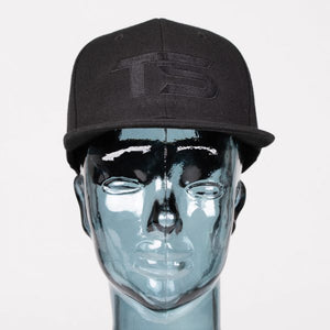 Totally Solid Snap Back Black