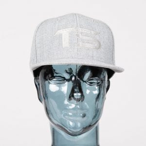 Totally Solid Snap Back Light Grey