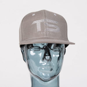 Totally Solid Snap Back Dark Grey