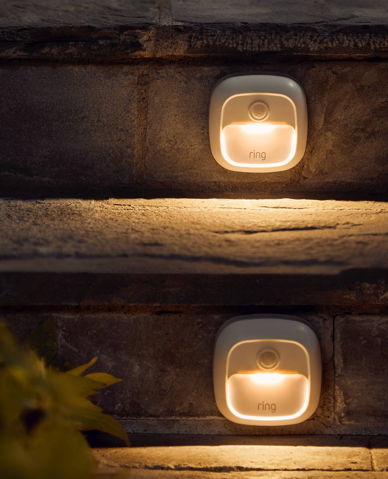 Safety lighting at every step of the way.