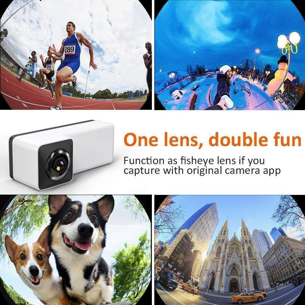 3D Panoramic Lens for iPhone , Comsoon 360 Degree Phone Lens