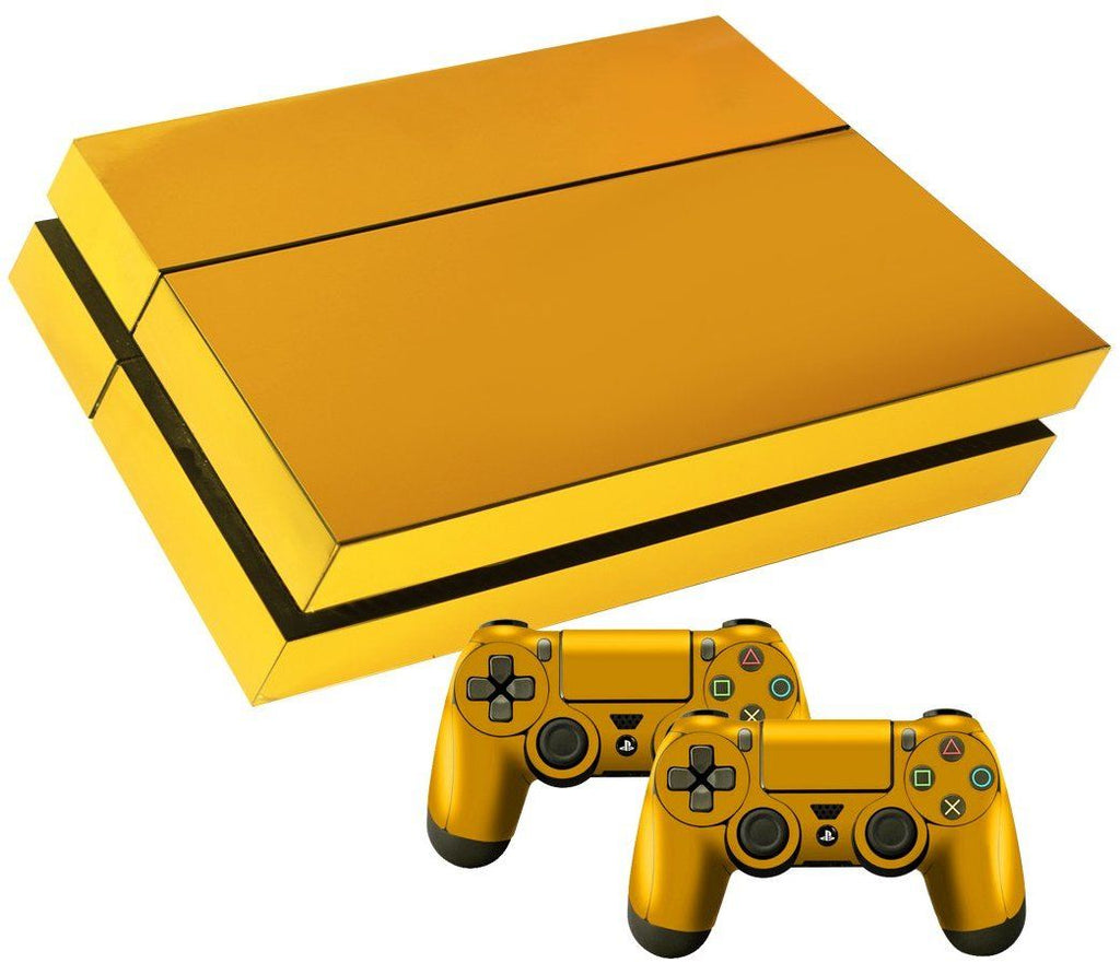 PS4 LIMITED EDITION GOLD SKIN