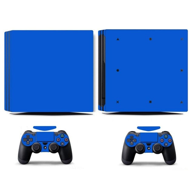 LIMITED EDITION PS4 PRO VINYL SKIN BUNDLE IN BLUE