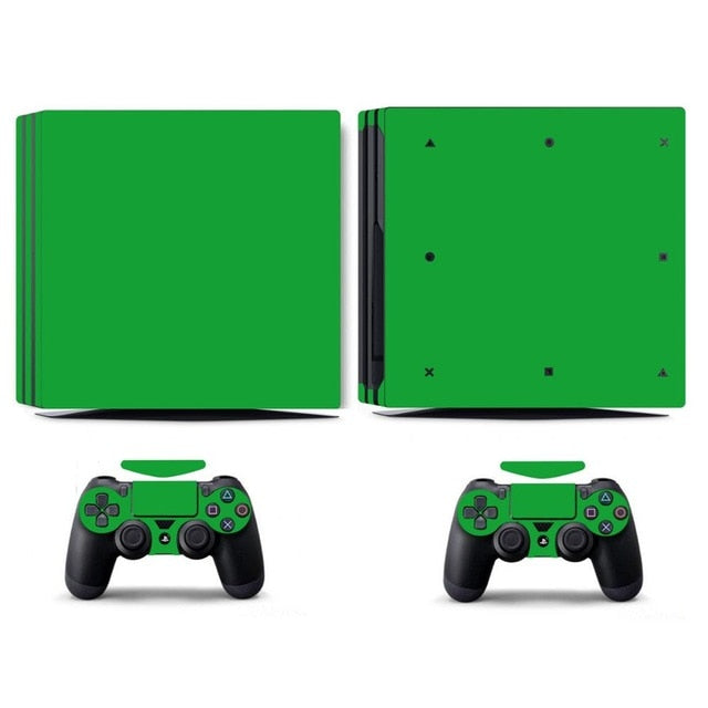 LIMITED EDITION PS4 PRO VINYL SKIN BUNDLE IN GREEN